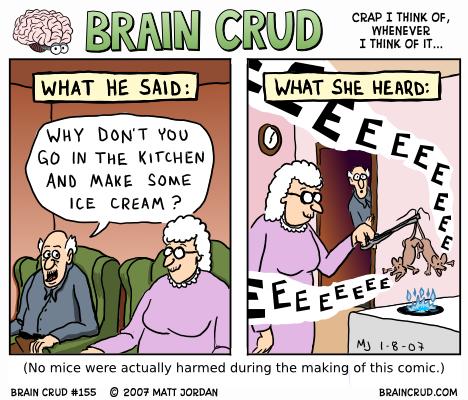 What she heard...